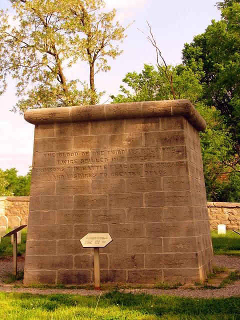 SRNB: Hazen Brigade Monument