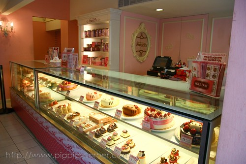 Hello kitty sweets cafe, Taipei 3
