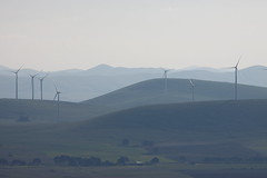 Waubra Wind Farm (blachswan) Tags: autumn mountain haze australia victoria windfarm mountcole acciona waubra waubrawindfarm