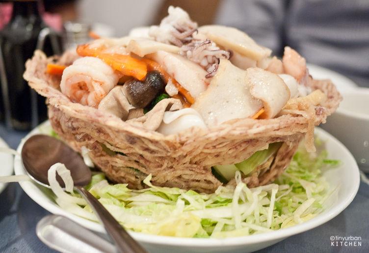 Seafood Taro Nest