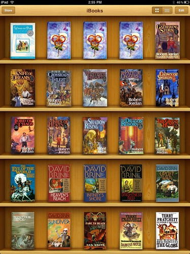 iBooks Shelf