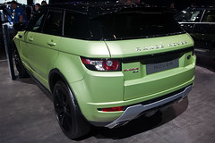 Range Rover Evoque Rear Quarter View