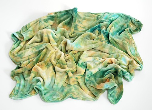 *Dandelion* LWI Dyed Snuggle Blanket (BV/BV) *Toddler Sized*