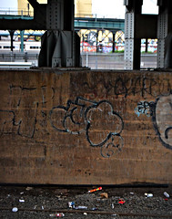 MQ (Now It's Real!) Tags: new york city nyc ny graffiti graf tracks queens mq lic graff lirr longislandcity qu longislandrailroad mque