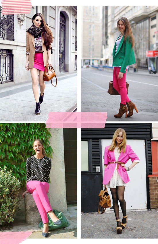 Pink streetstyle