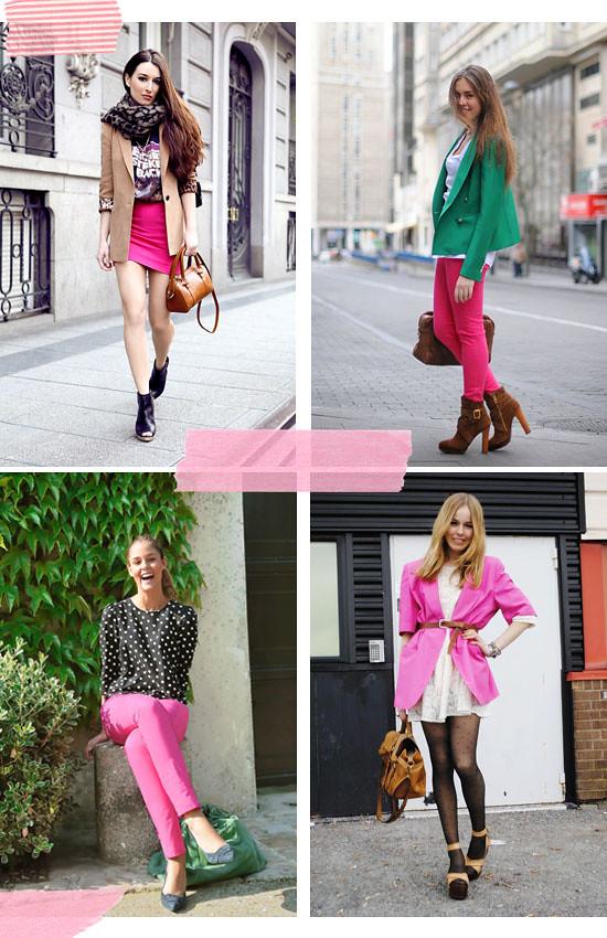 Pink streetstyle