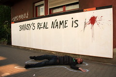 banksy's real name is... (Luna Park) Tags: berlin germany real graffiti is name billboard taps lunapark mto banksys pheo laserburners