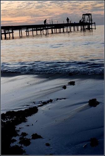 Fishermen, Sunset, Atlit