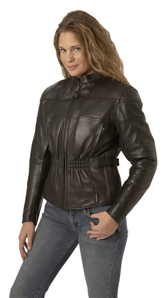 6141_side_women_kass_vented_jacket by Dynamicleather-US