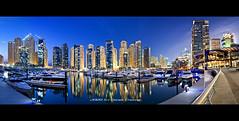 Dubai Marina Yatch Club :: DRI Panorama (DanielKHC) Tags: panorama digital marina interestingness high nikon dubai dynamic uae explore range dri hdr blending d300 dynamicrangeincrease bratanesque danielkhc tokina1116mmf28 6x5exp gettyimagesmeandafrica1