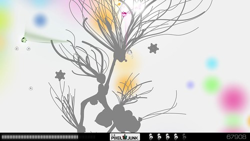 PixelJunk Eden Screenshot