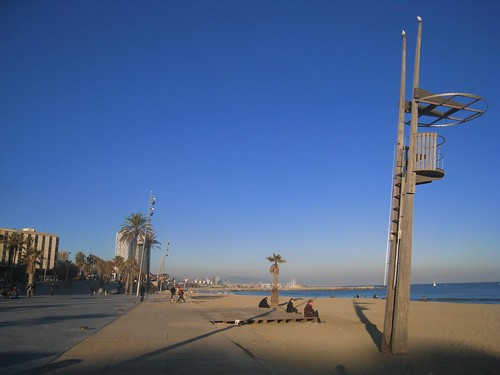 Barceloa beach