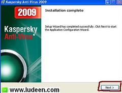 5 การติดตั้งโปรแกรม Kaspersky