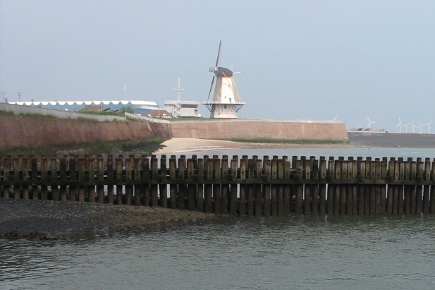 Oranjemolen (Orange Mill) in Vlissingen