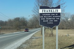 Franklin, Ohio Historical Sign