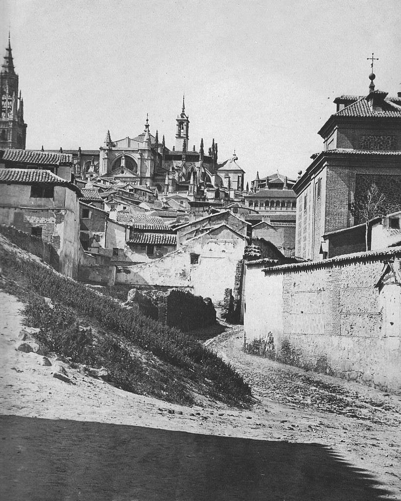 Catedral de Toledo con la Torre del Reloj. Foto de Casiano Alguacil