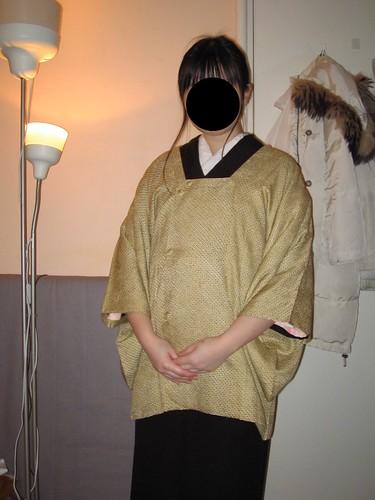 Mofuku Remake set + Yellow Shibori Michiyuki