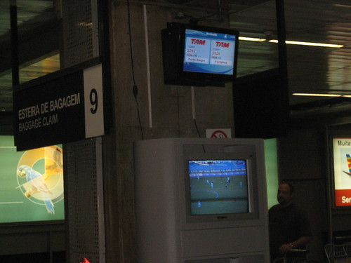 TV en Aeropuerto de SaoPaolo