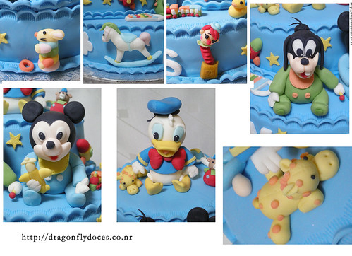 baby disney characters pictures. Baby Disney Cake / Bolo