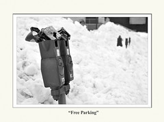 Free Parking! (Litehouseman) Tags: nikon parking stjohns meter parkingmeter nikkor brokenmeter d300 artsandculture c2009jamesfewer