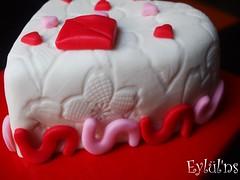 Seni seviyorum pastası...