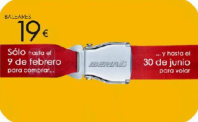 ofertas vuelos Baleares con Iberia
