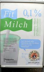Fit Milch mit 0,1% Fett