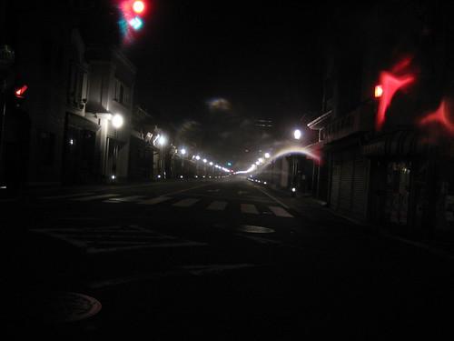 川越の街灯