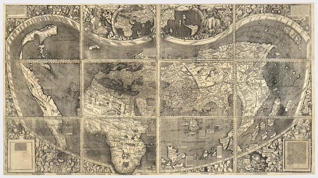 Waldesmüller, Martin - 1507 - Universalis Cosmographia
