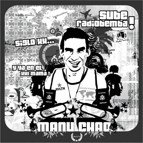 Manu Chao Illustration - Magazine Sursystem Edición Intro (2003)
