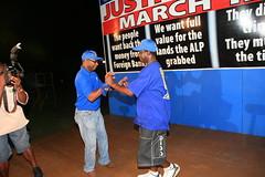Hammer Night (2 March 2009) (uppantigua) Tags: election rally antigua 2009 bluewave upp antiguabarbuda bigbluewave unitedprogressiveparty hammernight