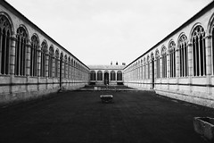 (Gianluca Milella) Tags: bw italy cemetery architecture bn pisa camposantomonumentale canoneos450d
