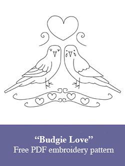 Budgie love
