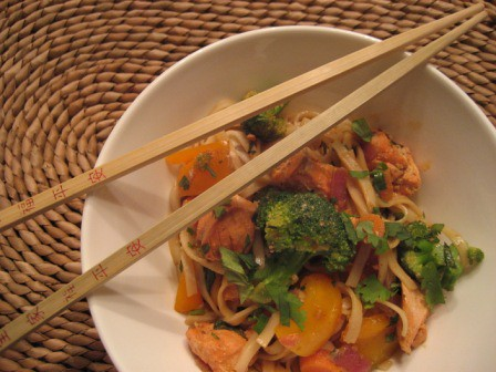 salmon stir fry by seasontotaste.