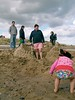 Alnmouth 2009 69 (cautious_boy) Tags: sea beach alnmouth sandcastles