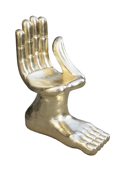 Friedeberg hand and foot chair