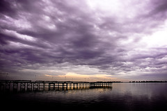 El muelle ( SandroG) Tags: sunset storm buenosaires garcia sandro chascomus sandrog