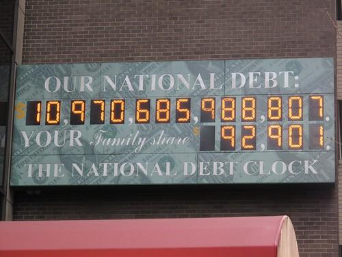 US National debt counter