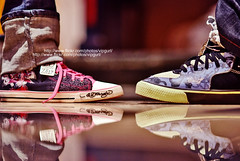 Always put yourself in others' shoes. If you feel it hurts you, (v3vo-- away.) Tags: boy reflection girl nikon shoes bokeh sister brother jeans part2 ghada edhardy d80 nikond80 a7md msvevo