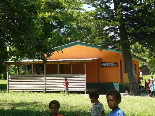 Vanuatu : Ile de Tanna #22 : Ecole de Manuapen ( francaise )