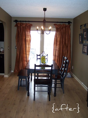 dining room remodel {AFTER}