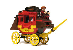 Stagecoach (Sir Nadroj) Tags: wild west lego stagecoach