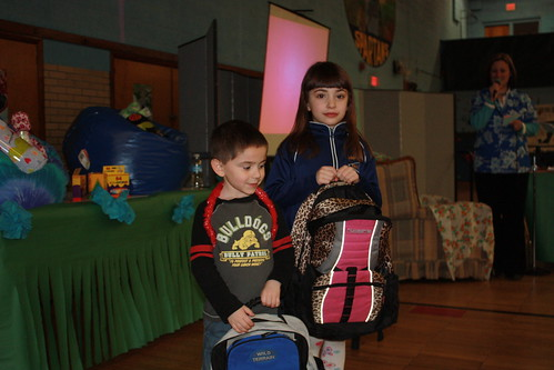 Students win Bsckpacks