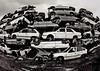 Tetris (ïsThaVision) Tags: old urban abandoned car decay fisheye zaragoza abandon ruinas coche scrapping viejo tetris antiguo coches destroy desguace thais abandono abandonado ojodepez chatarra zgz riun fzfave isthavision retofz090616 istharevolution
