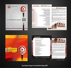 Pasic Catholic College Annual Report 2007 with insides (noelevz) Tags: