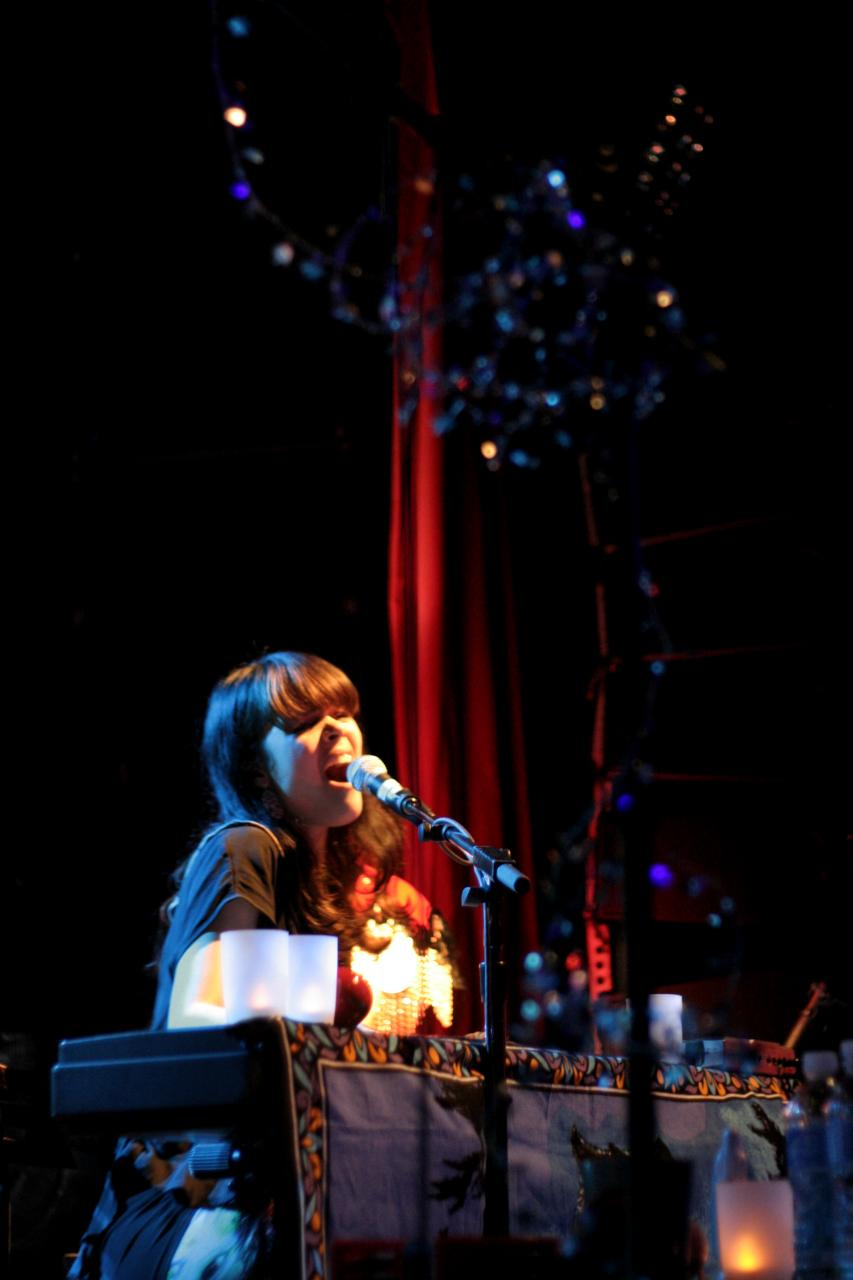 Bat For Lashes—April 25, 2009 @ The Mod Club