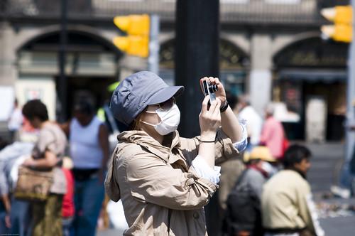 Influenza Porcina barbijos México