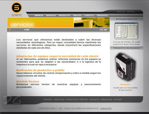 portfolio Somyc argentina diseño web logo by DGenerador