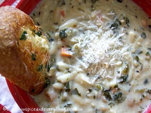 Creamy Tuscan Bean Soup
