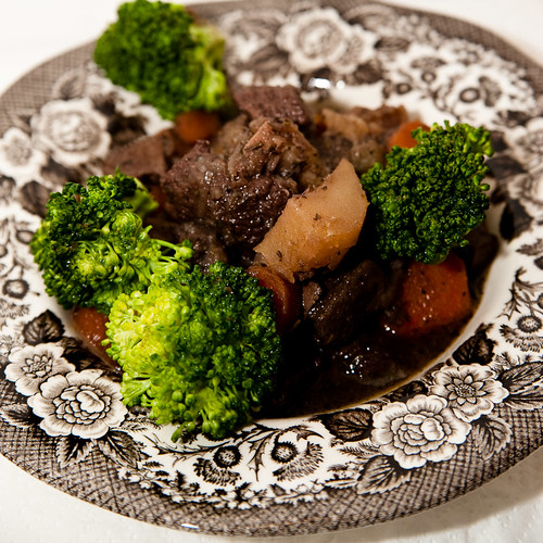 My take on Beef Bourguignon